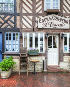 Beuvron-en-Auge, one of the sweetest little villages in France Region Normandie, Girlfriends Getaway, Romantic Escapes, Beaux Villages, France, French Country, Places To Travel, Gallery Wall, Cottage