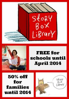 FREE Story Box Library membership for SCHOOLS