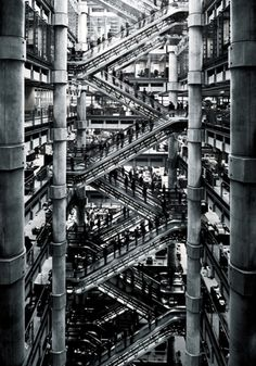 Lloyd's Building - London. Dude. This is sick!!