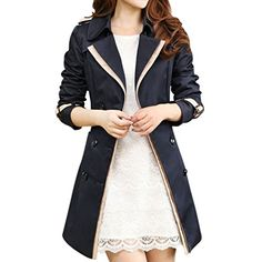 MK988 Womens Fashion Lace Up Lapel Sleeveless Slim Long Vest Jacket Coat