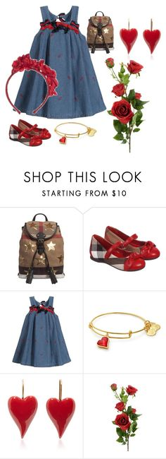 """Alicia de Grijze"" by julissadegrijze on Polyvore featuring Burberry and Monnalisa Chic"