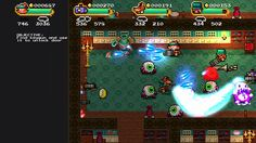 RetroManiac | Revista de videojuegos retro |Videogames Magazine | Indie | Games | Gratis: Acepta el reto Monsters & Monocles, un nuevo indie de disparos y acción multi frenético