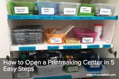 The Art of Ed - How to Open a Printmaking Center in 5 Easy Steps