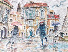 Suddenly the rain, 2014 - Carlos Pardo