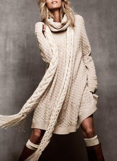 Comfy Sweater Dress or Sweater