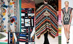 Print trend 2014 aztec