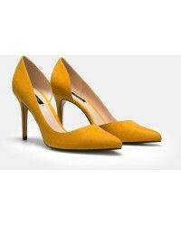 These are just perfect, I think I'm in love! (Mango Audrey Yellow Stilettos)