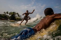 New York Times: Jan. 11, 2015 - No moon suits, just trunks and the surf of healing from Ebola