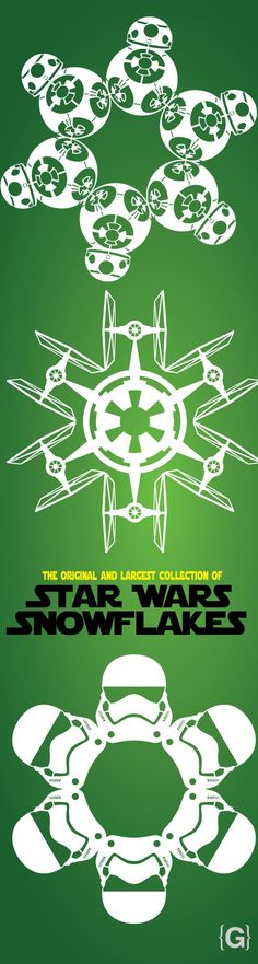 2015 Star Wars Snowflake Templates