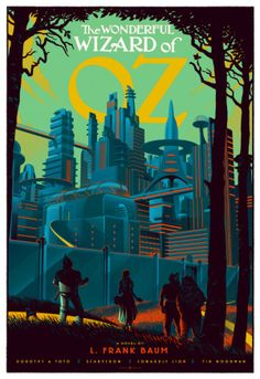 Les affiches rétro de films par Laurent Durieux