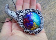 Orgonite Necklace Orgone Chakra Pendant by EnchantedEvolution11