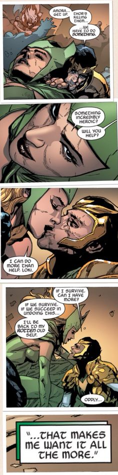 Amora Enchantress and Loki                                                                                                                                                                                 Mais