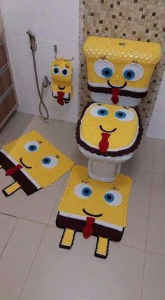 10+ Jogos de Banheiro em Croche