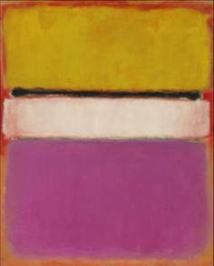 MARK ROTHKO http://www.widewalls.ch/artist/mark-rothko/ #abstractexpressionism #colorfield
