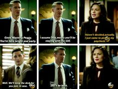 Agent Carter, Thompson and Sousa tumblr
