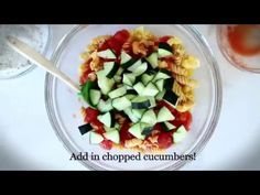 Whether you're planning a picnic, a side dish for the BBQ, or a simple Meatless Monday dish, try this Pasta Salad by Shaw's Simple Swaps! Mediterranean Pasta Salads, Meatless Monday, Creative Food, Fruit Salad, Gluten Free Recipes, Free Food, Side Dishes, Picnic, Diet