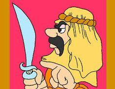 moro con espada