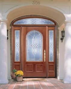 Housetrends Featured Professional   Cincinnati Entry Point   A Great Use Of  Glass In The Front Door.   Curb Appeal   Pinterest   Cincinnati, Front Doors  And ...