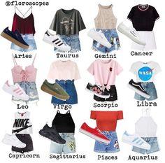 I am a libra and these are zodiac casual outfits. Zodiac Signs Chart, Zodiac Signs Sagittarius, Zodiac Star Signs, Virgo Horoscope, Astrology Zodiac, Sagittarius Zodiac, Astrology Signs, Pisces Quotes, Libra Capricorn