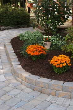 Outdoor Gardens by CST Pavers | Hardscaping Ideas by CST Pavers And VERSA-LOK Retaining Walls
