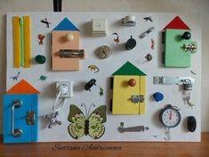 Mache selbst eine Lernwand für Deine Kinder! Praktisch und lehrreich! Sie werden sich bestimmt freuen ... - DIY Bastelideen