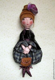 Коллекционные куклы ручной работы. Ярмарка Мастеров - ручная работа Текстильная кукла  Элия. Handmade.