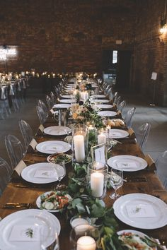 Modern Table Design | Ghost Chairs | Modern Wedding Ideas
