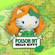 Hello Kitty x DC - Poison Ivy