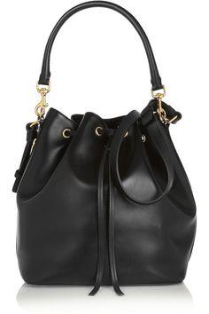 Saint Laurent 'Emmanuelle' bucket bag #saintlaurent #bucketbag #leatherbag