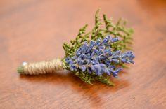 English lavender boutonniere, spring boutonniere, dried flower boutinierre spring wedding, summer wedding, summer bouutonniere, wildflowers