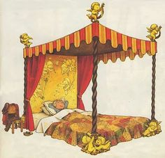 """Wish I had this bed... from: """"The House that Beebo Built"""" by Philippe Fix"""