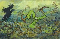 Creeping death: The decadent mythological artwork of Jaroslav Panuška | Dangerous Minds