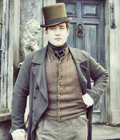 Matthew Macfadyen as Arthur Clennam in Little Dorrit.