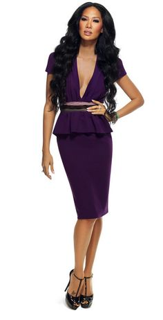 Did you know: The fashionable Kimora Lee Simmons is from St. Louis just like the ladies? Purple Gowns, Purple Dress, Beautiful Black Women, Beautiful People, Star Fashion, Girl Fashion, Kimora Lee Simmons, Best Fashion Designers, Fashion Network