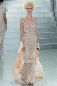 Chanel HC S2014 Reminds me of Gatsby, imagine that dress on a woman with proper shape