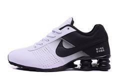 best sneakers 951ae c1b3d Nike Shox Deliver Chaussures Nike Officiel Pas Cher Pour Homme Noir   Blanc  Mens Nike Shox