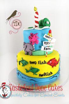 Cat in the Hat Cake & Smash Cake