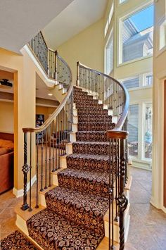 I like the carpet on the stairs.