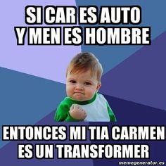 Los mejores Memes graciosos en español para tu facebook en este año 2016, no dejes que tu perfil de face sea aburrido y publica estos memes divertidos en tu muro para que todos tus...