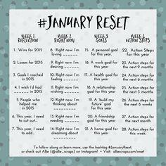 2016-RESET-Goal Setting Challenge