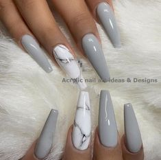 Best Stunning Marble Coffin Nails Inspirational Ideas You Must Try – Page 41 of 70 – Diaror Diary – Trendy Nails – Nails Marble Acrylic Nails, Classy Acrylic Nails, Cute Acrylic Nail Designs, Summer Acrylic Nails, Best Acrylic Nails, Classy Nails, Trendy Nails, Cute Nails, Simple Nails
