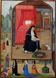 Image this a great example of the type of furniture and things medieval times used in the past. 1400's