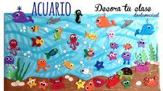 Fijaos en el impresionante acuario que ha creado DONLUMUSICAL con peces de goma…