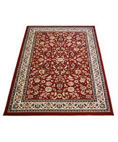 buy elisabeth traditional rug red 80 x 150cm at argoscouk