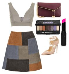"""""""Untitled #1192"""" by maddie-xxx-1 ❤ liked on Polyvore featuring Henri Bendel, MiH, Jimmy Choo, Topshop and Kat Von D"""