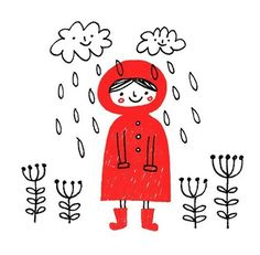 Raining Day - by Happy Doodle Land