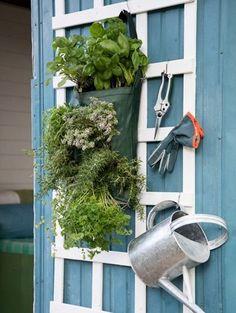 Hangtuin van Pokon - 5x mini-moestuin voor balkon of schutting | ELLE Decoration NL