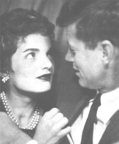 "http://en.wikipedia.org/wiki/Jacqueline_Kennedy_Onassis  From their honeymoon in Acapulco in September, 1953, Jack writes, ""At last I know true meaning of rapture, Jackie is enshrined forever in my heart - thanks Mom and Dad for making me worthy of her. Your loving son Jack."""