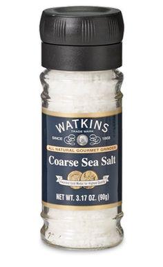 Coarse Sea Salt Grinder | J.R. Watkins