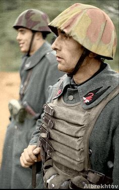 Italian soldier.